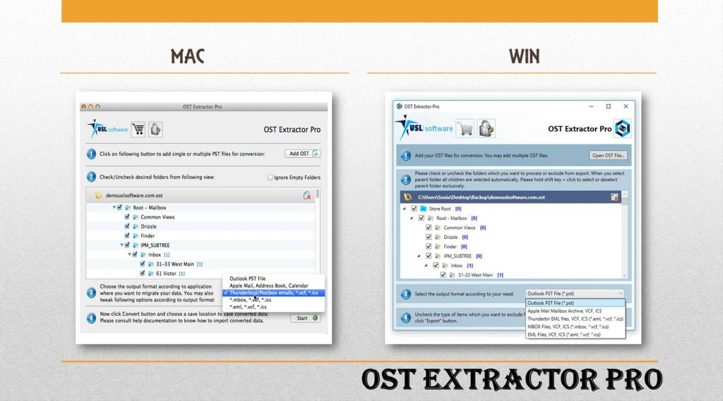 Microsoft OST to PST Converter Tool