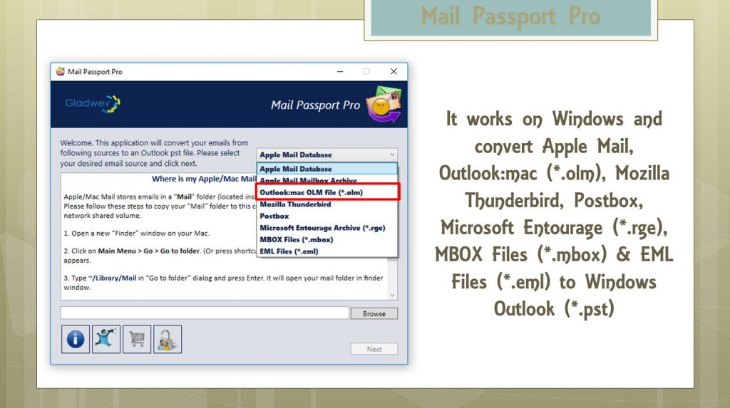 Mac Outlook (OLM) to Windows Outlook (PST)