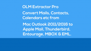 export Outlook 2011 folders to Mac Mail