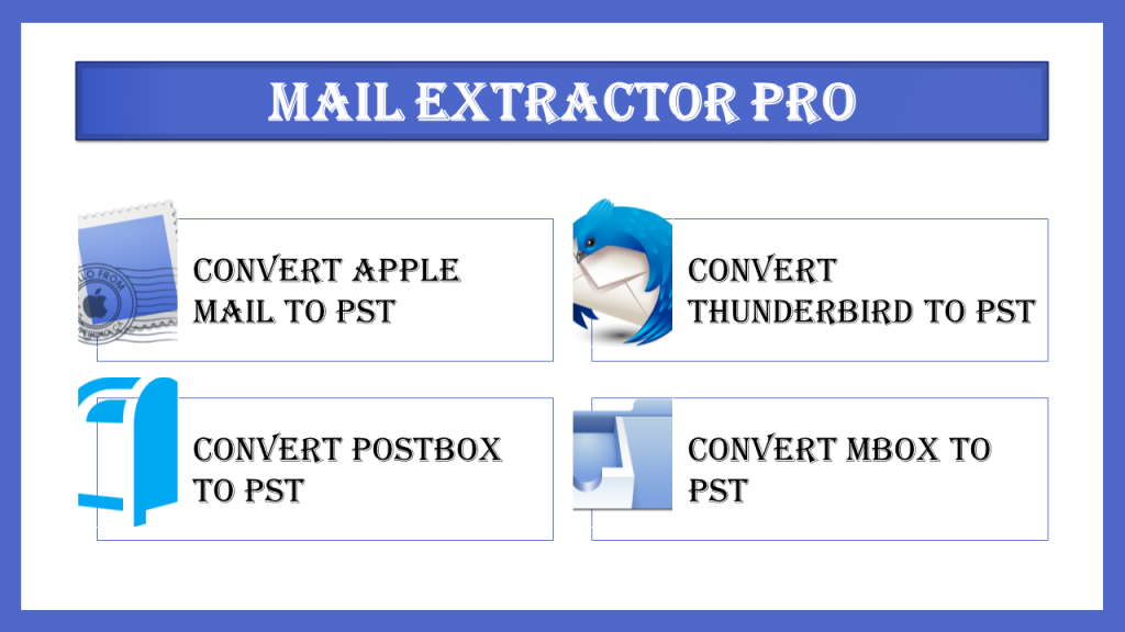 Here is the Best way to make Thunderbird convert to PST